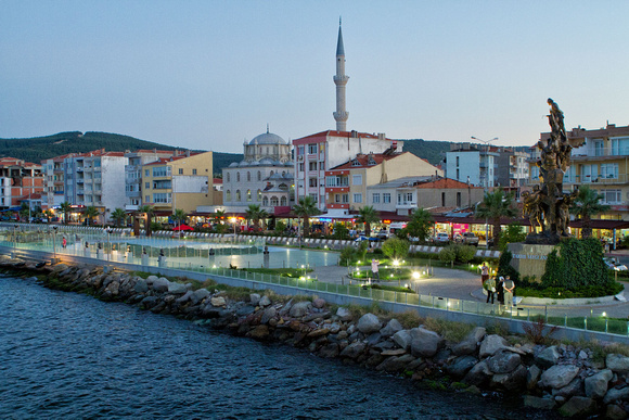 Kilitbahir in the evening